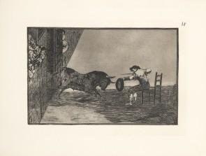 Lot 0001 - FRANCISCO DE GOYA Y LUCIENTES - Recklessness of Martincho in the Plaza de Zaragoza. 8th Ed. 1983 Bullfighting